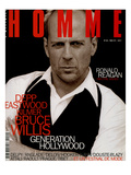 L'Optimum  May 1997 - Bruce Willis Est Habillé Par Donna Karan