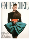 L'Officiel  September 1986 - une Robe de Pierre Cardin