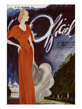 L'Officiel  December 1935 - Madeleine Vionnet