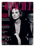 L'Officiel  October-November 1992 - Lara Harris  Qui Porte une Veste Smoking de Giorgio Armani