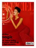L'Officiel  December 1994 - Yasmeen Ghauri Porte du Dolce & Gabbana