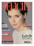 L'Officiel  March 1994 - Isabella Rossellini A Choisi Emanuel Ungaro