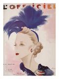 L'Officiel  July 1937 - Maria Guy