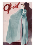 L&#39;Officiel  December 1936 - R&#233;veillon Nina Ricci