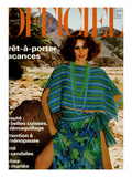 L'Officiel  May 1977 - Guy Laroche Diffusion  Poncho Court et Jupe À Taille Basse