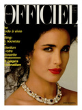 L'Officiel  April 1986 - Andie MacDowell