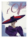 L&#39;Officiel  June 1936 - Le Monnier