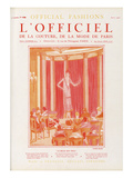 L'Officiel  August 1925 - La Belle Que Voilà