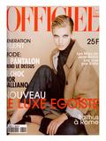 L'Officiel  November 1996 - Jessica Hopper  Mannequin et Actrice  Habillée Par Jil Sander