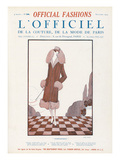 L'Officiel  November 1924 - Inséparable