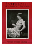 L'Officiel  October 1926 - Princesse Voskonsky en Drecoll