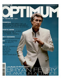 L&#39;Optimum  April-May 2002 - Bryan Ferry Est Habill&#233; en Gucci  Montre Polex
