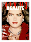 L'Officiel  October 1985 - Brooke Shields