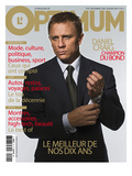 L&#39;Optimum  December 2006-January 2007 - Daniel Craig Est Habill&#233; Par Brioni  Montre Omega