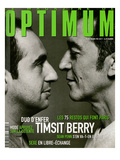 L'Optimum  March 1999 - Patrick Timsit et Richard Berry Portent Des Pulls Col V Hermès