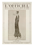 L'Officiel  October-November 1923 - Vertige Robe en Tulle Perlé de Cristal