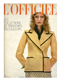L'Officiel  1971 - Ensemble d'Yves Saint-Laurent