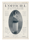 L'Officiel  December 15 1921 - Mlle Soria  Robe de Marshal&Armand