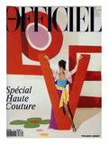 L&#39;Officiel  March 1992 - Love  Le Mot F&#233;tiche d&#39;Yves Saint Laurent