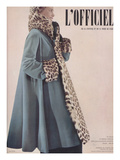 L'Officiel  Special Issue - Ensemble de Jacques Fai Lainage de Lajoin
