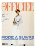 L&#39;Officiel  February 1993 - Chanel: le Tailleur de L&#39;Ann&#233;e Port&#233; Par Tyra