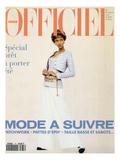 L'Officiel  February 1993 - Chanel: le Tailleur de L'Année Porté Par Tyra