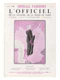 L'Officiel  June 1925 - Fleur Étrange