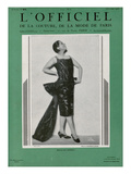 L'Officiel  December 1926 - Mlle Spinelly en Louiseboulanger