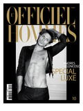 L&#39;Officiel  Hommes December 2007 - Andres Velencoso