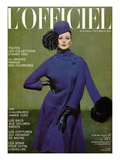 L'Officiel  October 1962 - Manteau de Pierre Cardin en Lainage de Moreau