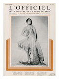 L'Officiel  May 1926 - Mlle Madeleine Soria en Martial & Armand