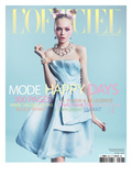 L'Officiel  March 2012 - Siri Tollerod