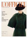 L'Officiel  October 1963 - Manteau de Givenchy