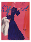 L'Officiel  October 1938 - Robert Piguet