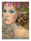 L'Officiel  1970 - un Collier de Van Cleef et Arpels Style Reine Alexandra