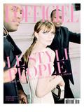 L'Officiel  June 2009 - Mischa Barton Porte une Robe Corset en Coton  Dolce & Gabbana