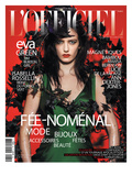 L'Officiel  December 2011 - Eva Green