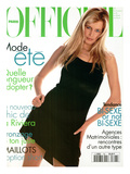 L&#39;Officiel  June 1995 - Claudia Schiffer