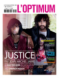 L&#39;Optimum  November 2011 - Le Duo Justice  Xavier De Rosnay
