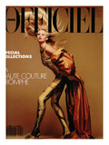 L'Officiel  March 1990 - Nathalie Bachmann