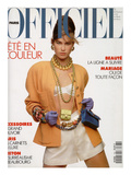 L'Officiel  April-May 1991 - Meghan Habillée Par Chanel Boutique