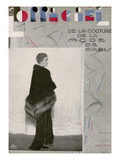 L'Officiel  January 1930 - Gabrielle Dorziat
