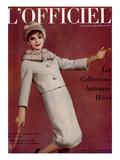 L'Officiel  September 1960 - Tailleur en Lanvin Castillo en Ninotchka de Ducharne