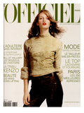 L'Officiel  October 1999 - Vivien Solari