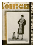 L&#39;Officiel  May 1929 - Mme Schaparelli
