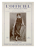 L'Officiel  May-June 1923 - Reproduction Autorisée Par Callot Sœurs