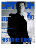L'Optimum  November 2003 - etienne Daho  en Total Look Hedi Slimane pour Dior