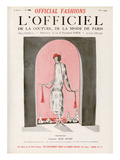 L'Officiel  August 1924 - Brumeuse