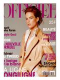 L'Officiel  October 1996 - Meghan Douglas Habillée Par Gucci