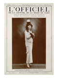 L'Officiel  August-September 1923 - Mlle Andrée Fontenelle  Marshal & Armand